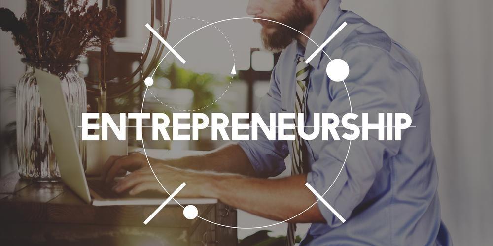 Empreendedorismo Pessoa de negócios Start Up Concept